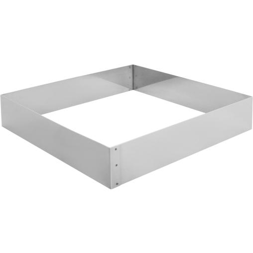 SCHNEIDER Tortenring, quadrat, 260 x 260 mm