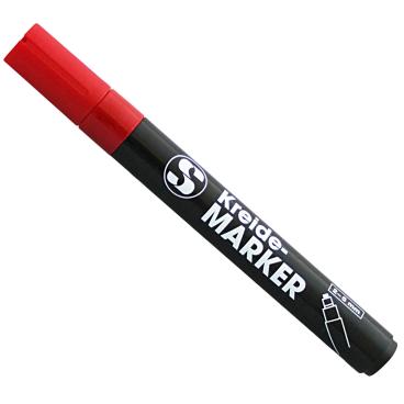 SCHNEIDER Kreidestift, 2-5 mm Farbe: rot