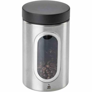 GEFU PIERO Kaffeepad-Dose  Für 250 g Kaffee, 20 Kaffeekapseln oder 20 Kaffeepads