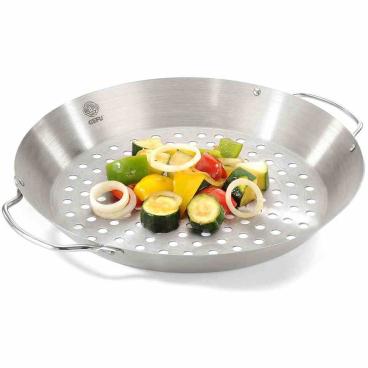 GEFU BBQ Hähnchengriller und Gemüse-Wok 1 Stück