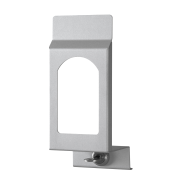 TEMDEX® Frontblende gewölbt mit Sichtfenster