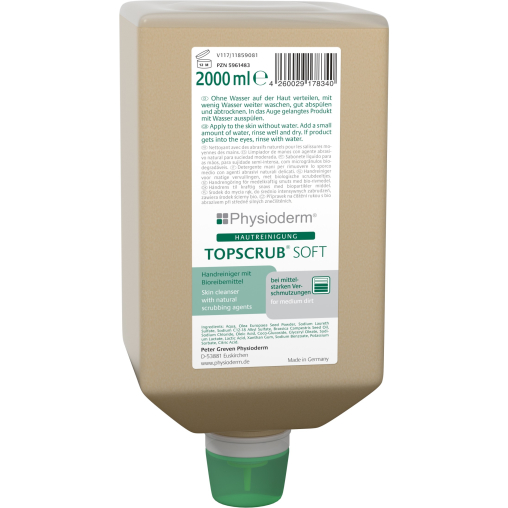 Physioderm® TOPSCRUB® SOFT Handreiniger