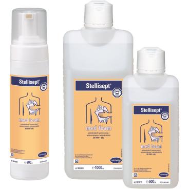 Bode Stellisept® med foam Reinigungsschaum, antibakteriell 200 ml - Pumpschäumer