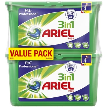 P&G Professional Ariel 3in1 PODS Regulär Waschmitteltabs