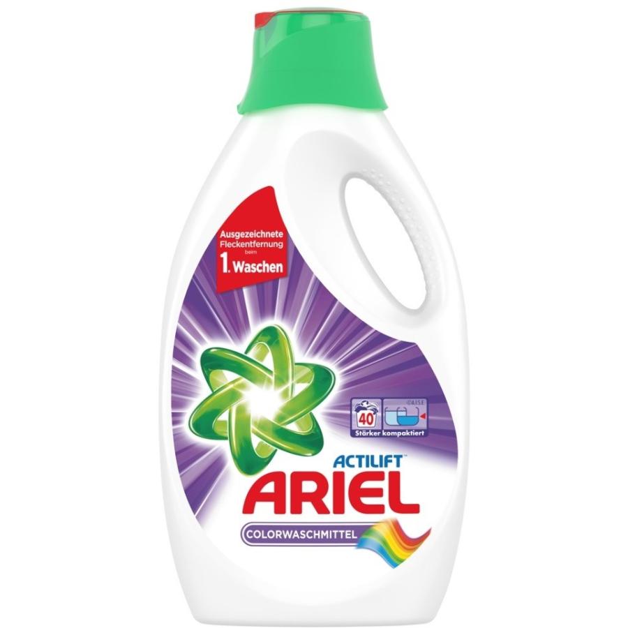 ariel fl ssig colour style colorwaschmittel 2200 ml flasche f r ca 40 waschladungen online
