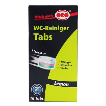 ORO®-fresh WC-Reiniger Tabs 1 Packung = 16 x 25 g Tablette