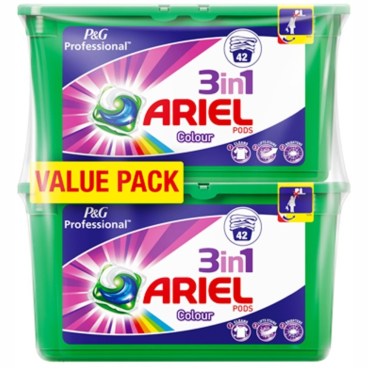 P&G Professional Ariel 3in1 PODS Colour & Style Waschmitteltabs