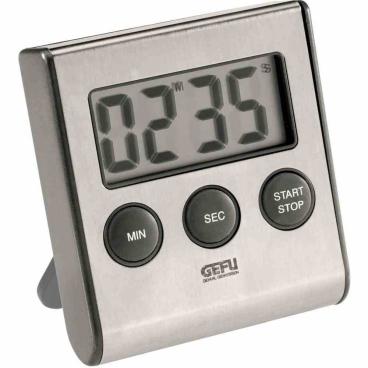 "GEFU ""Contare"" Digitaler Timer, inkl. AAA Batterie Küchenuhr"
