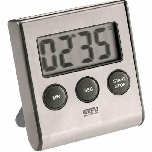 "GEFU ""Contare"" Digitaler Timer, inkl. AAA Batterie"