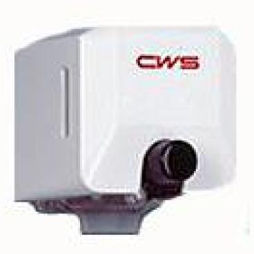 CWS Dusch- und Seifenspender, 200 ml Ohne Schloss, weiß