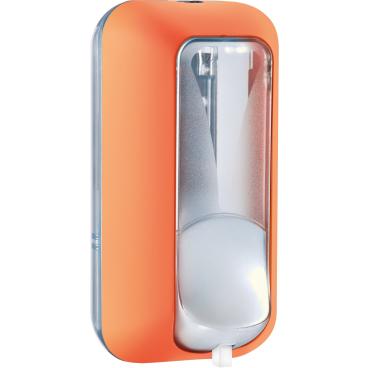 CLIVIA® Colored-Edition S50 comfort Schaumseifenspender Kunststoff, orange
