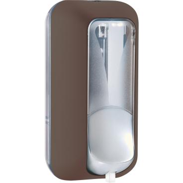 CLIVIA® Colored-Edition S50 comfort Schaumseifenspender Kunststoff, braun