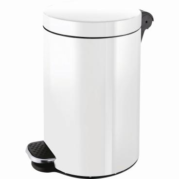 """helit """"the knight"""" Silberionen-Tretabfallbehälter, 20 Liter"""