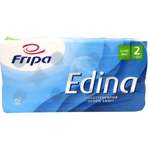 Fripa Edina Toilettenpapier, 2-lagig