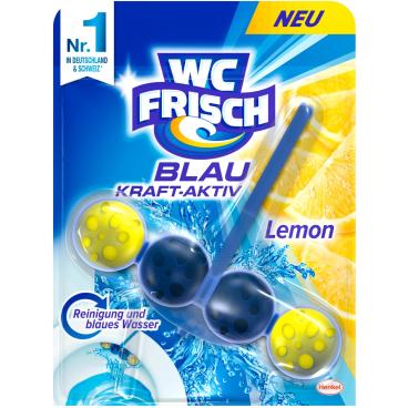WC Frisch Kraft-Aktiv WC-Duftspüler 1 Packung = 1 Stück, Lemon