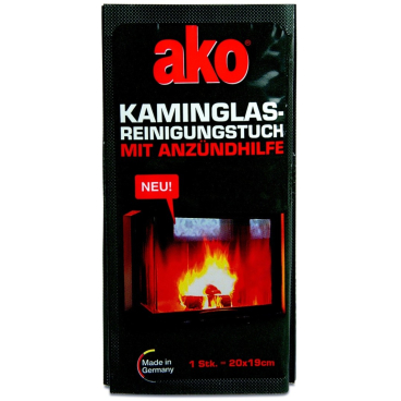 ako® Kaminglas Reinigungstuch