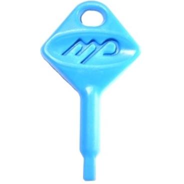 TEMCA Spenderschlüssel für CLIVIA Seifenspender