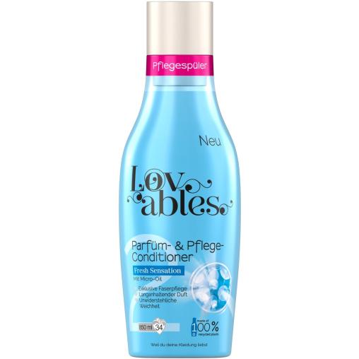 Lovables Parfüm- & Pflege-Conditioner, 850 ml