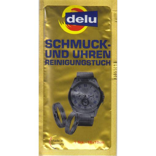 DELU Schmuck- und Uhren Reinigungstuch