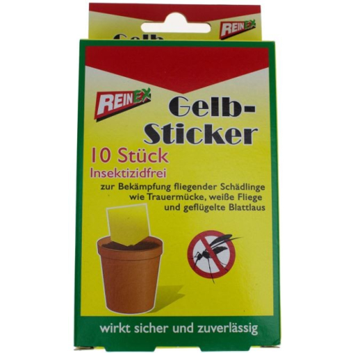 REINEX INSEKTENSTOPP Gelb-Sticker