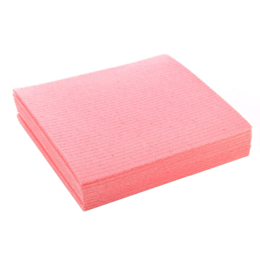 "Floorstar Schwammtuch ""Spongy"" Größe 1, Format: 18 x 20 cm, rosa"
