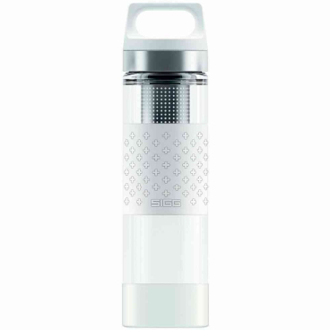 SIGG Hot & Cold Glas Trinkflasche, 0,4 l