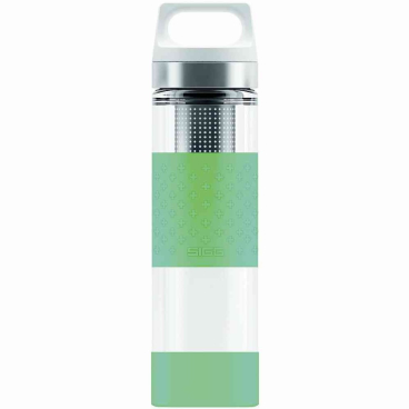 SIGG Hot & Cold Glas Trinkflasche, 0,4 l