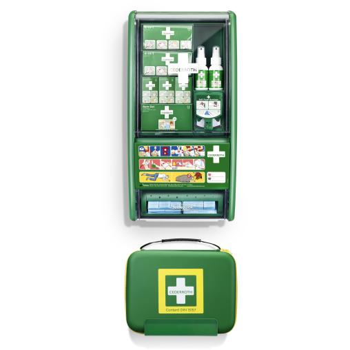 Cederroth First Aid & Burn Set Erste-Hilfe-Station DIN 13157
