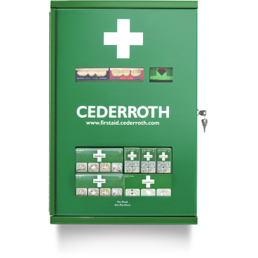 Cederroth Erste-Hilfe-Schrank, Doppeltür