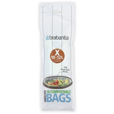 Brabantia (X) Müllbeutel, 10-12 Liter