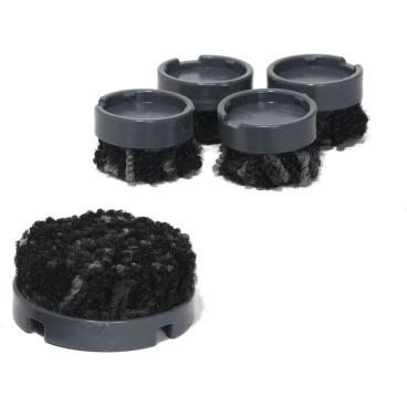 scratchnomore FootClick Stuhlgleiter für Hartböden