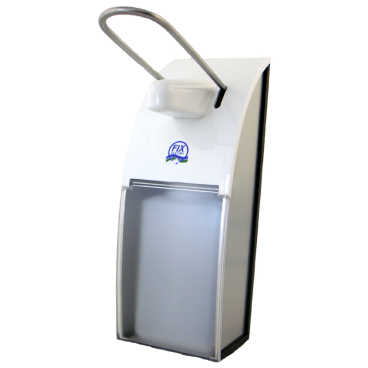 FIX Dosierspender für die hygienische Dosierung passend für 500 ml - Flaschen, Aluminium