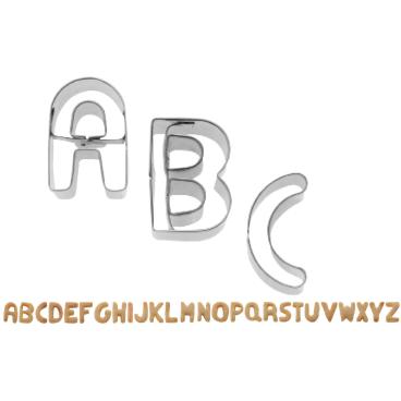 WESTMARK A-Z Buchstaben-Ausstechformen, 2,5 cm