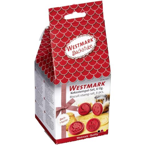 WESTMARK Keksstempel-Set, 6-teilig