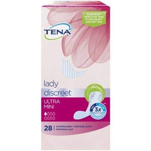 TENA Lady Discreet Ultra Mini Slipeinlagen