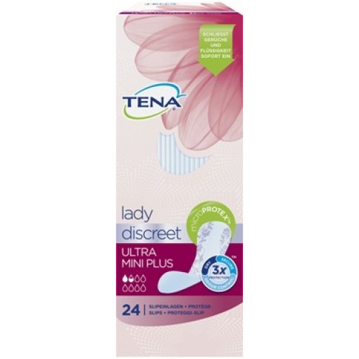 TENA Lady Discreet Ultra Mini Plus Slipeinlagen