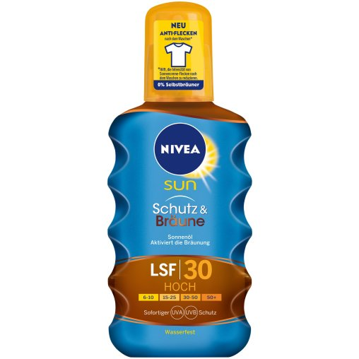 NIVEA® Sun Schutz & Bräune Sonnenöl