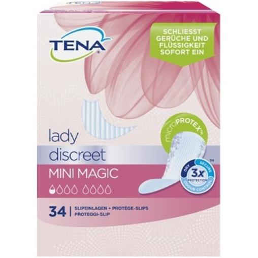 TENA Lady Discreet Mini Magic Slipeinlagen