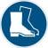 DURABLE Fußschutz benutzen Sicherheitskennzeichen