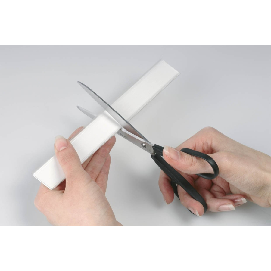 Etiketten Durable 804619 Scannerschienen Scanfix inkl Beutel /à 5 St/ück transparent 200 x 40 mm