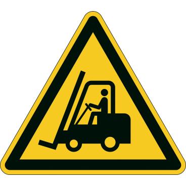 DURABLE Warnung vor Flurförderzeugen Sicherheitszeichen
