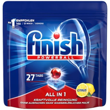 Finish Powerball All in 1 Citrus Spülmaschinentabs