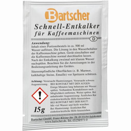 Bartscher Kaffeemaschinen-Entkalker