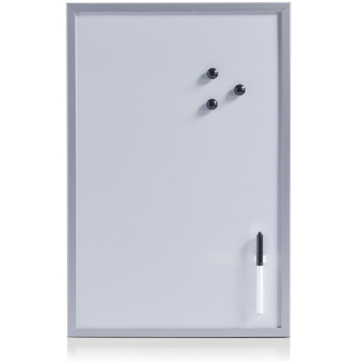 Zeller Magnet- /Schreibtafel, 40 x 60 cm, grau