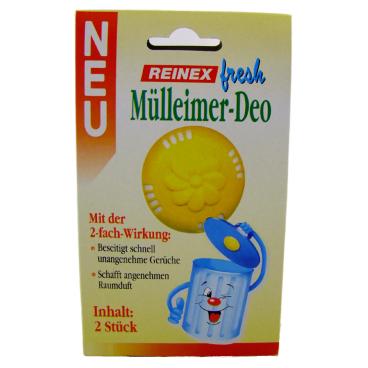 Reinex fresh Mülleimer-Deo 1 Packung = 2 Stück