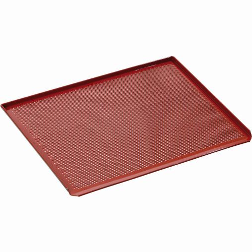 Bartscher Lochblech, Aluminium, silikonbeschichtet, rot