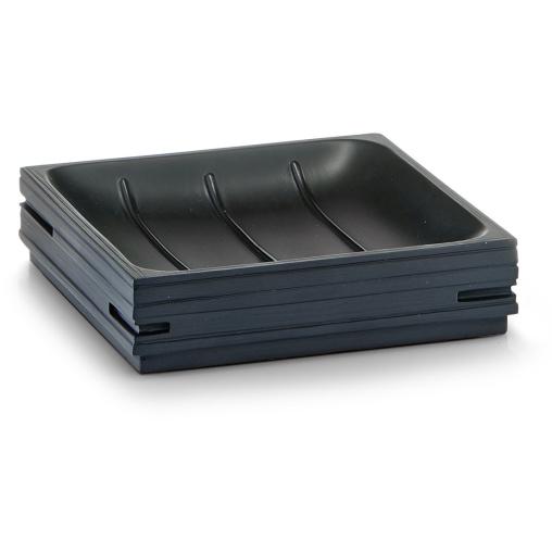 Zeller Schiefer Seifenschale, schwarz