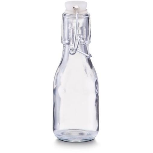 Zeller Glasflasche mit Bügelverschluss, 100 ml