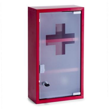 Zeller Medizinschrank, rot