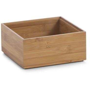 Zeller Bamboo Ordnungsbox, stapelbar